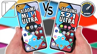Xiaomi Mi 11 Ultra vs Samsung Galaxy S21 Ultra Speed Test