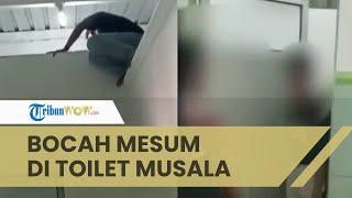 Viral Video Dua Bocah Terciduk Warga Berduaan di Toilet Musala Pekalongan, Sempat Tak Mau Buka Pintu