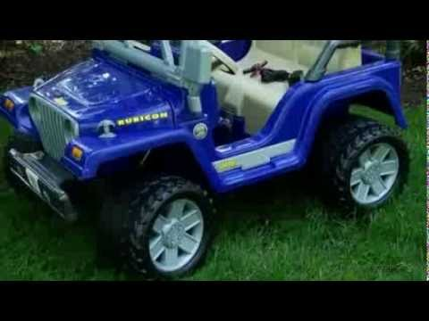 Fisher-Price Battery Powered POWER WHEELS Jeep Wrangler Rubicon - Product Review Video