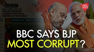 Did A BBC Survey Name BJP As Most Corrupt Party In The World?
