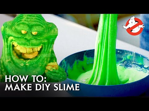 How To Make Your Own Ghostbusters Style Slime