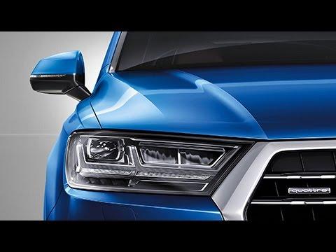 New 2015 Audi Q7 Matrix LED Licht - dynamischer Blinker [4K]