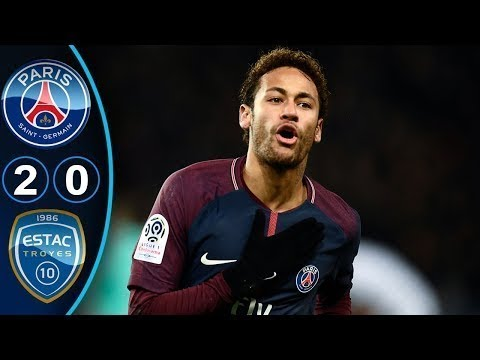 Paris Saint Germain vs Troyes 2-0 - All Goals & Highlights