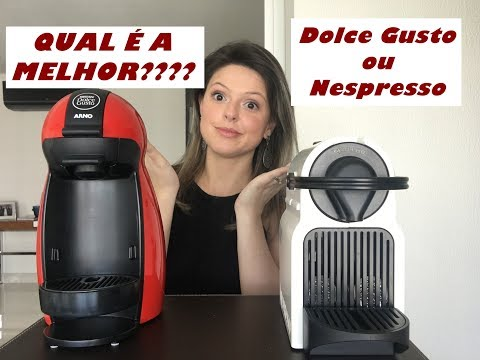 Nespresso ou Dolce Gusto? Qual é Melhor? Das 8 às 18h