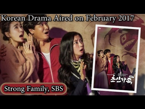 Drama korea 2017 strong family sbs indosub lengkap