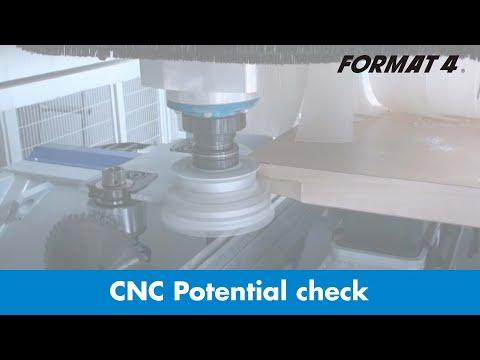 FORMAT-4® - Controllo del potenziale CNC