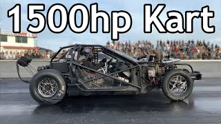 What's it Like to Ride in a 1500HP, Twin Turbo, Exoskeleton Drag Car? (Leroy the Savage)