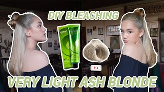 DIY BLEACHING AT HOME + BREMOD 9.1 VERY LIGHT ASH BLONDE | Lara Maglalang (2020) Philippines
