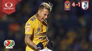Resumen Tigres 4 - 1 Querétaro   Clausura 2019 - Jornada 11   Televisa Deportes