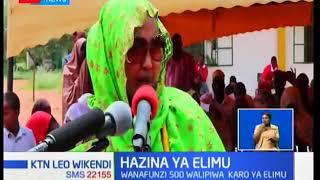 Mwakilishi wa kike kaunti ya Wajir Fatuma Gedi  azindua mradi wa kuwasaidia wanafunzi wasiojiweza