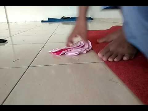 Video Santri cowok pake kaos kaki cewek