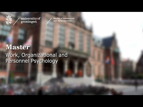 Testimonial van MSc Work, Organizational And Personnel Psychology Video