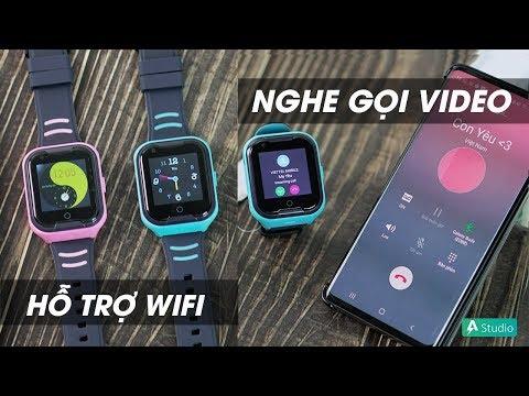 Wonlex KT11 l Đồng hồ định vị trẻ em nghe gọi Video - Hỗ trợ WIFI