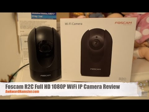 Foscam R2C Full HD 1080P WiFi IP Camera Review - AwkwardHamster