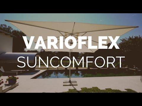 ☼ Sonnenschirm Suncomfort Varioflex Produktvideo - Garten-und-Freizeit