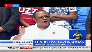 Tundu Lissu ameilaumu serikali ya Magufuli