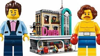 LEGO шедевр Downtown Diner Creator Expert 10260 новинка