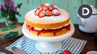 victoria sponge cake recipe with butter icing