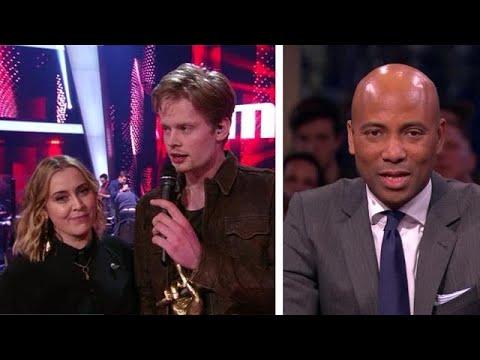 "Jim wint The voice of Holland: ""Bizar!"" - RTL LATE NIGHT"