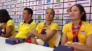 """กิ๊ฟ""""อำลาซีเกมส์ครั้งสุดท้ายหลังคว้าทองให้ทีมชาติไทยวอลเลย์บอลรอบชิงซีเกมส์ครั้งที่30ฟิลิปปินส์2019"""