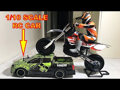 Giant Brushless RC Motorbike - BSD Racing 404T