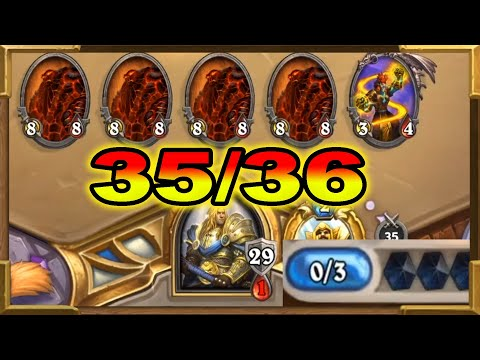 """Hearthstone: 35/36 Minions On Turn 3 