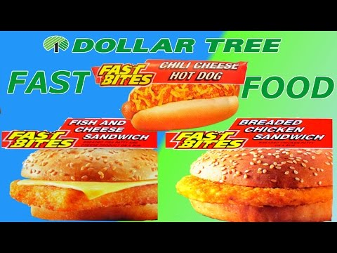 Dollar Tree FAST FOOD – WHAT ARE WE EATING?? – The Wolfe Pit