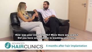 Hair Transplant testimonial (arabic language - eng subtitles)