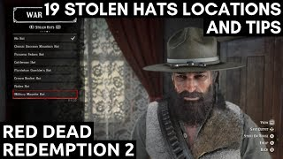 19 Stolen Hats Locations And Tips Red Dead Redemption 2