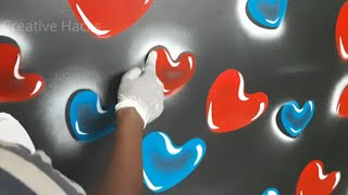 Wall texture Bubbles painting Royale Play and motor Spray