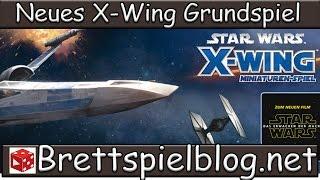 Unboxing: X-Wing: Force Awakens / Erwachen der Macht - Das neue Grundspiel für das Miniaturenspiel