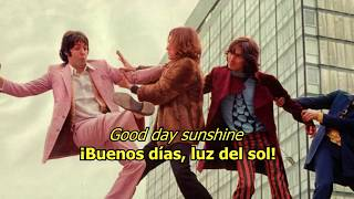 Good day sunshine - The Beatles (LYRICS/LETRA) [Original]