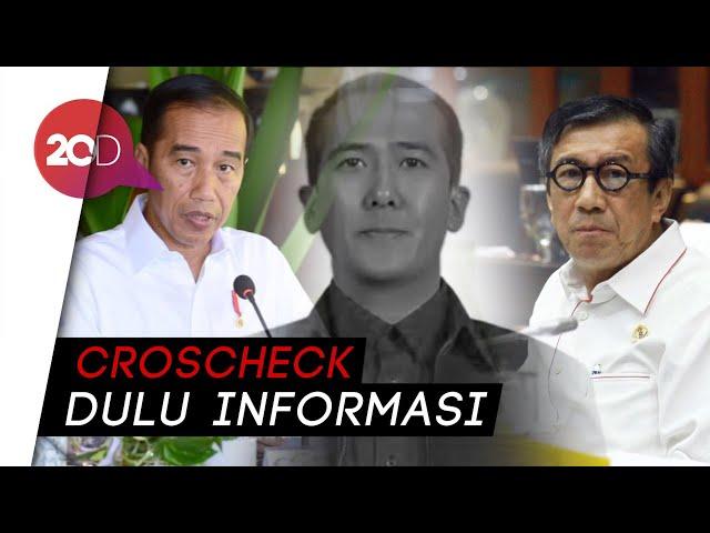 Jokowi 'Sentil' Yasonna soal Harun Masiku: Hati-hati Buat Statement!