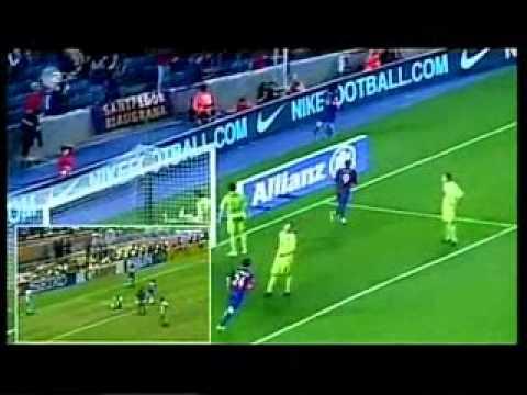 Lionel Messi - Jahrhundert Tor vergleich mit Diego Maradonna [HQ]
