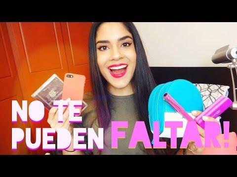 Esenciales para viajar en AVIÓN! (Equipaje de Mano) | Natalia Julia