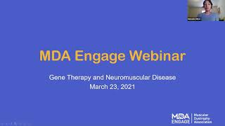 MDA Engage: Gene Therapy and Neuromuscular Disease