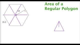 Area Of A Regular Polygon Given Apothem And Side Length