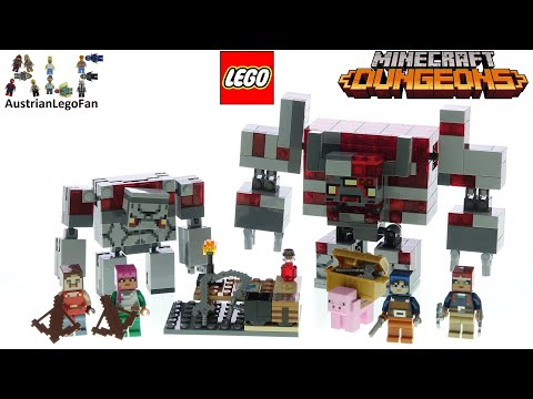 LEGO Minecraft 21163 Batalia Redstone
