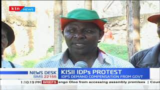 Kisii IDPs cry foul over delayed payments of their compensation from Gov't