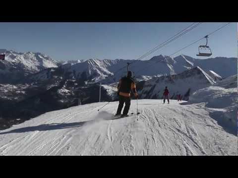 Wintersport Les sybelles 2012