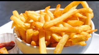 French Fries Recipe Homemade | How to Make French Fries Recipe