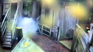 preview picture of video 'Tavistock Paintball 11/ 9/11 Fort Game'