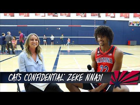 Cats Confidential: Zeke Nnaji (Arizona Wildcats Basketball media day)