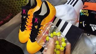 Chuteira Adidas X15.1 Sg Campo Trava Mista Original Nº 38 Miguel Sports 512c96da292ec