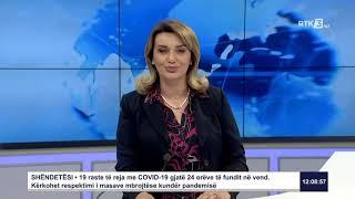 RTK3 Lajmet e orës 12:00 04.06.2020