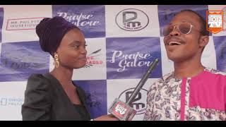 Kingdomboiz Tv's On The RedCarpet At Praise Galone Album Launch With Dammy White