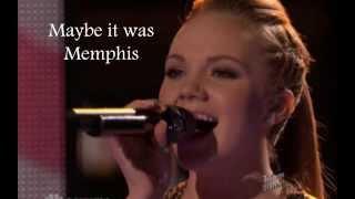 "Danielle Bradbery ""Maybe it was Memphis""-Lyrics"