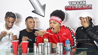 TIN CAN CHALLENGE FT. AR'MON AND TREY *GONE WRONG*