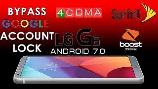Latest LG G6|G7|V30|V30+ | Android 9 0 | 8 0 |8 1 0 |FRP bypass