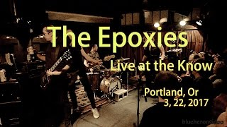 """The Epoxies """"Beat My Guest""""  Adam Ant -Live at The Know  3, 22, 2017 12"""
